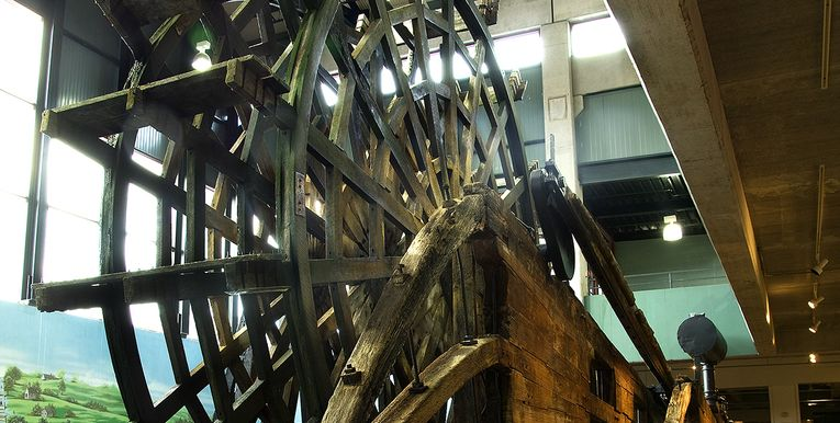 Arabia Steamboat Museum, Paddlewheel