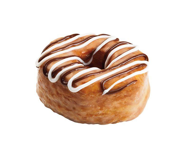 Fudge Croissant Donut Silo