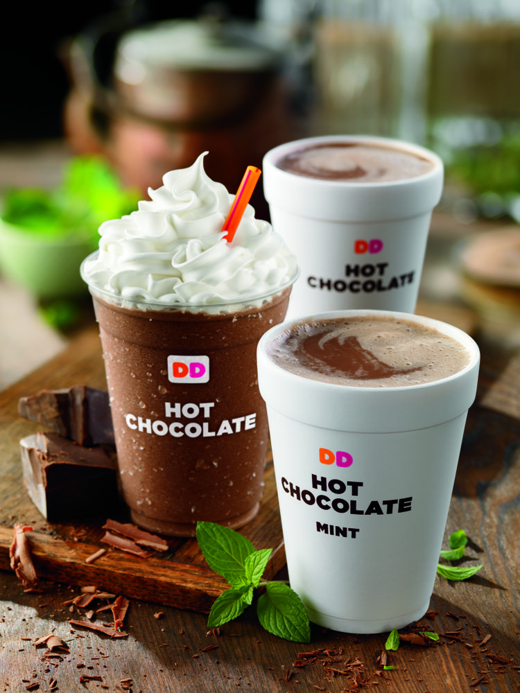 Dunkin Donuts Cold Hot Chocolate