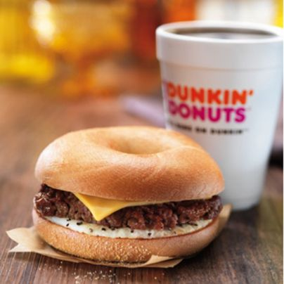 CLAIM YOUR STEAK WITH DUNKIN' DONUTS' NEW  ANGUS STEAK AND EGG SANDWICH AND WAKE-UP WRAP®
