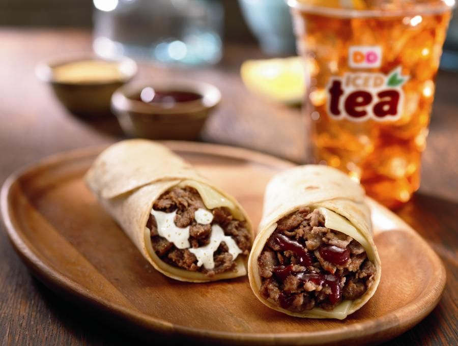STOKED FOR STEAK: DUNKIN' DONUTS LAUNCHES NEW ANGUS STEAK & CHEESE WRAPS