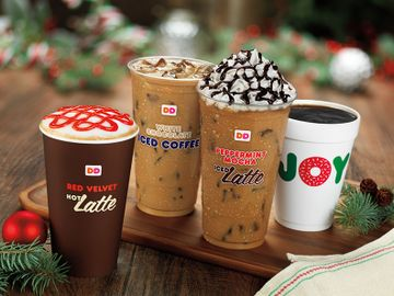 Latte lineup Holiday