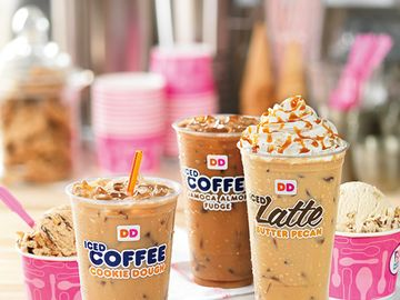 Iced Coffee Inspired by Baskin-Robbins