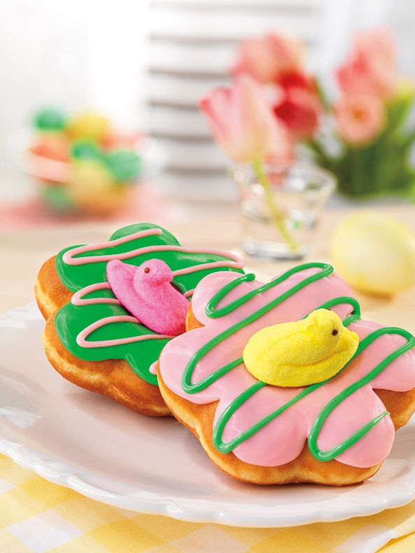 """DUNKIN' DONUTS CELEBRATES PEEPS® DONUTS WITH SPECIAL """"PEEPSTAKES"""""""