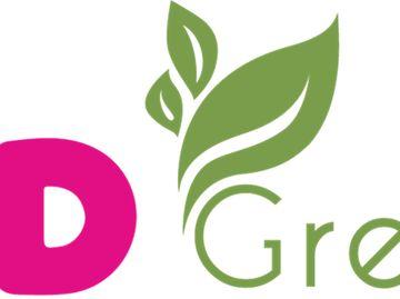 DD Green logo