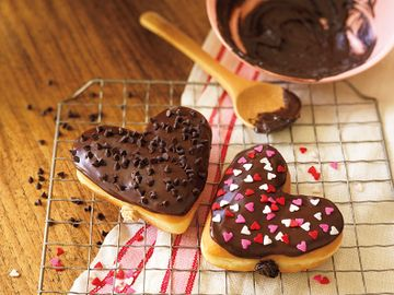 Heart Shaped Donuts Horizontal Lifestyle
