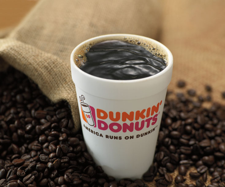 Dunkin Donuts New Rainforest Alliance Certified Dark