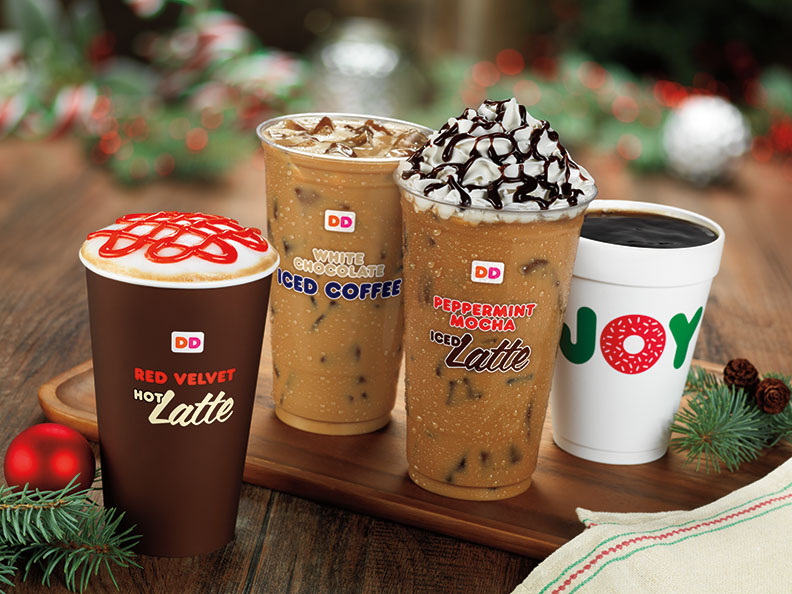 HOLIDAY CHEER THROUGH THE REST OF THE YEAR AT DUNKIN' DONUTS ...