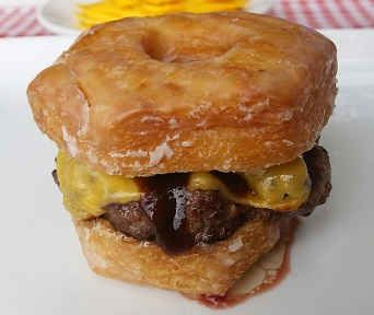Culinary Corner: Celebrate Father's Day with a Croissant Donut Burger!