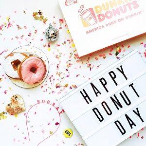 Five Ways to Properly Celebrate National Donut Day!