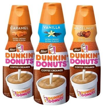 Announcing NEW Dunkin' Donuts Coffee Creamer Flavors!