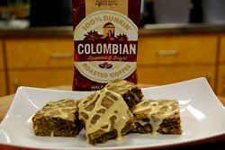 Recipe: Colombian Coffee Hazelnut Swirl Blondie