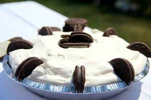 Chefs Corner: OREO® Vanilla Bean Coolatta® Ice Box Pie