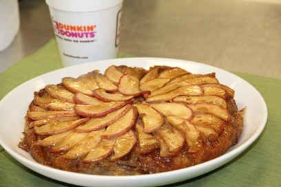 Chef's Corner: Salted Caramel Apple French Toast