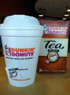 Celebrate National Hot Tea Month with Dunkin' Donuts