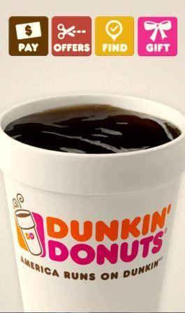 Dunkin' Donuts Celebrates Its Appiversary!