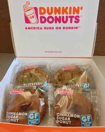 Dunkin' Donuts Plans to Introduce Gluten-Free Bakery Items to U.S. DD Restaurants By End of 2013