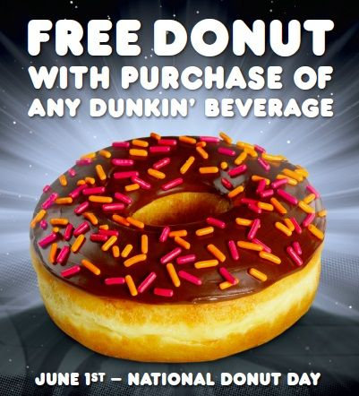 Save the Date: National Donut Day is Friday, June 1!
