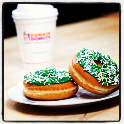 Celebrate St. Patrick's Day with Dunkin' Donuts