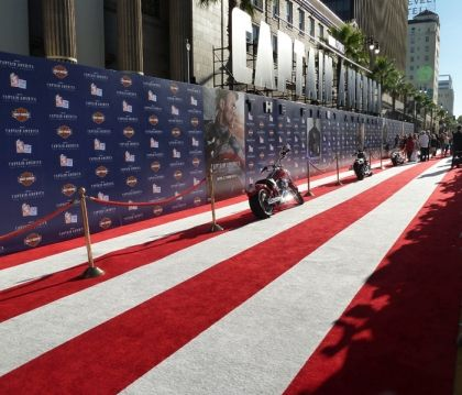 Dunkin' Donuts and Baskin-Robbins Go HollywooDD at the Captain America: The First Avenger Movie Premiere