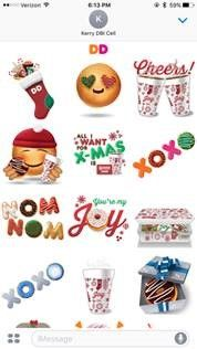 Dunkin Joy Stickers