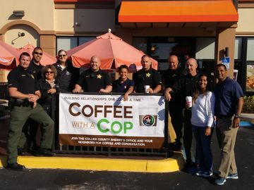 Naples Coffee With A Cop Program