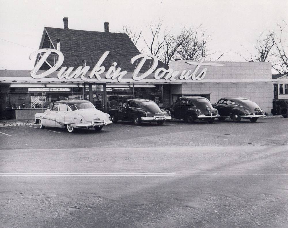 Dunkin' Donuts: Then and Now