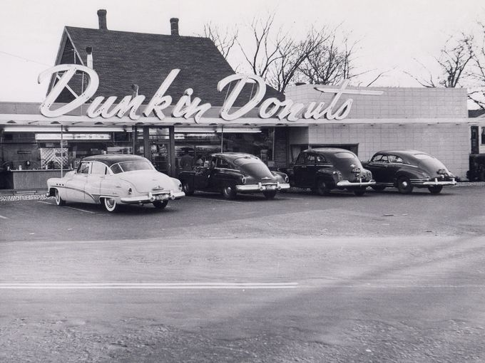 Dunkin' Donuts Quincy Location 1950