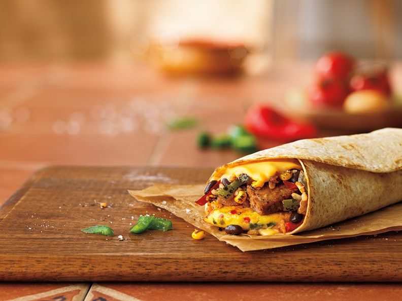 Big Time for Burrito Fans: Dunkin' Donuts Leaps Toward Spring  with New GranDDe Burrito