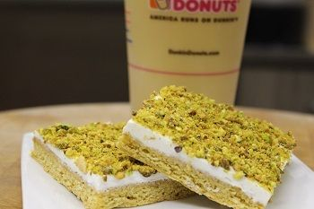 Culinary Corner: St. Patrick's Day Blondie Featuring Pistachio Flavored Iced Coffee