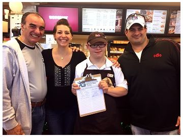 """Connecticut Dunkin' Donuts Franchisees Help """"Spread the Word to End the Word"""" in Celebration of Employee Anders Carlson"""