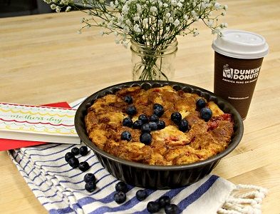 Culinary Corner: Mother's Day Blueberry Cobbler Croissant Donut Pie
