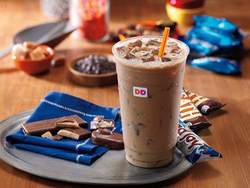 Candy Flavored Iced Coffee VerticalHorizontal Lifestyle