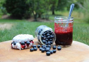Culinary Corner: Celebrate The Fourth With A Red, White, & Blue Donut Sandwich!