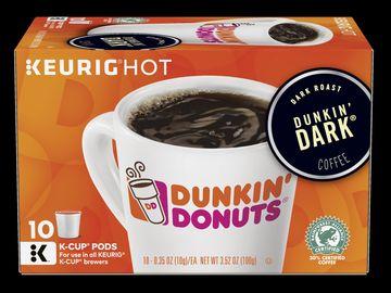 Dunkin' Dark K-Cup Pods