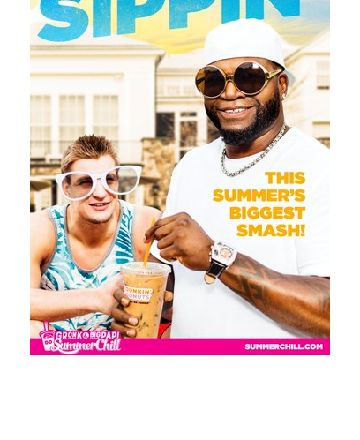 Gronk & Big Papi Sippin'