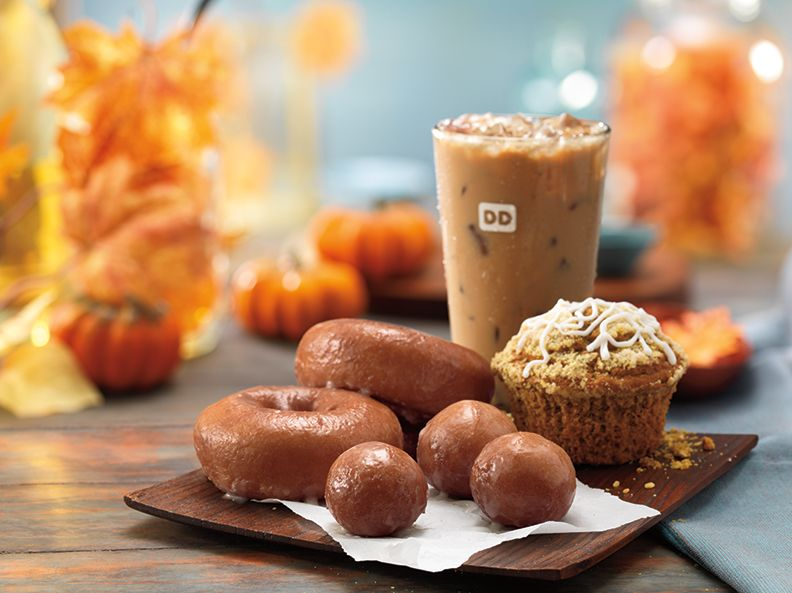 The Countdown to Pumpkin and Fall Flavors Begins Today at Dunkin' Donuts