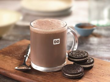 OREO Flavored Hot Chocolate
