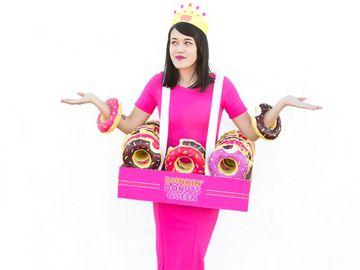 Dunkin Donuts Queen Costume