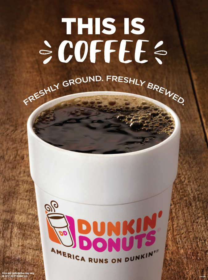 Sip, Peel, Win! Dunkin' Donuts Coffee Drinkers are Winners ...