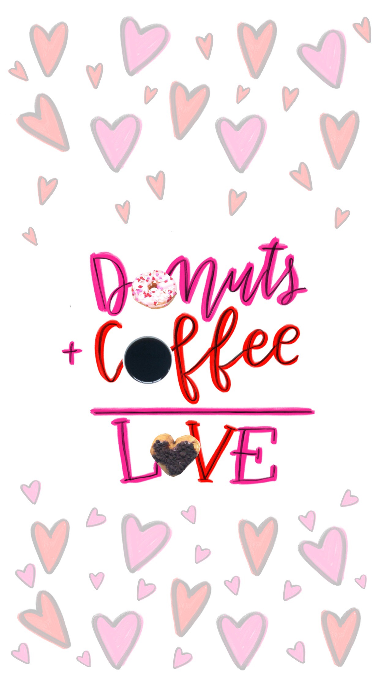 Share Your Dunkin\' Love This Valentine\'s Day with Mobile Wallpapers ...
