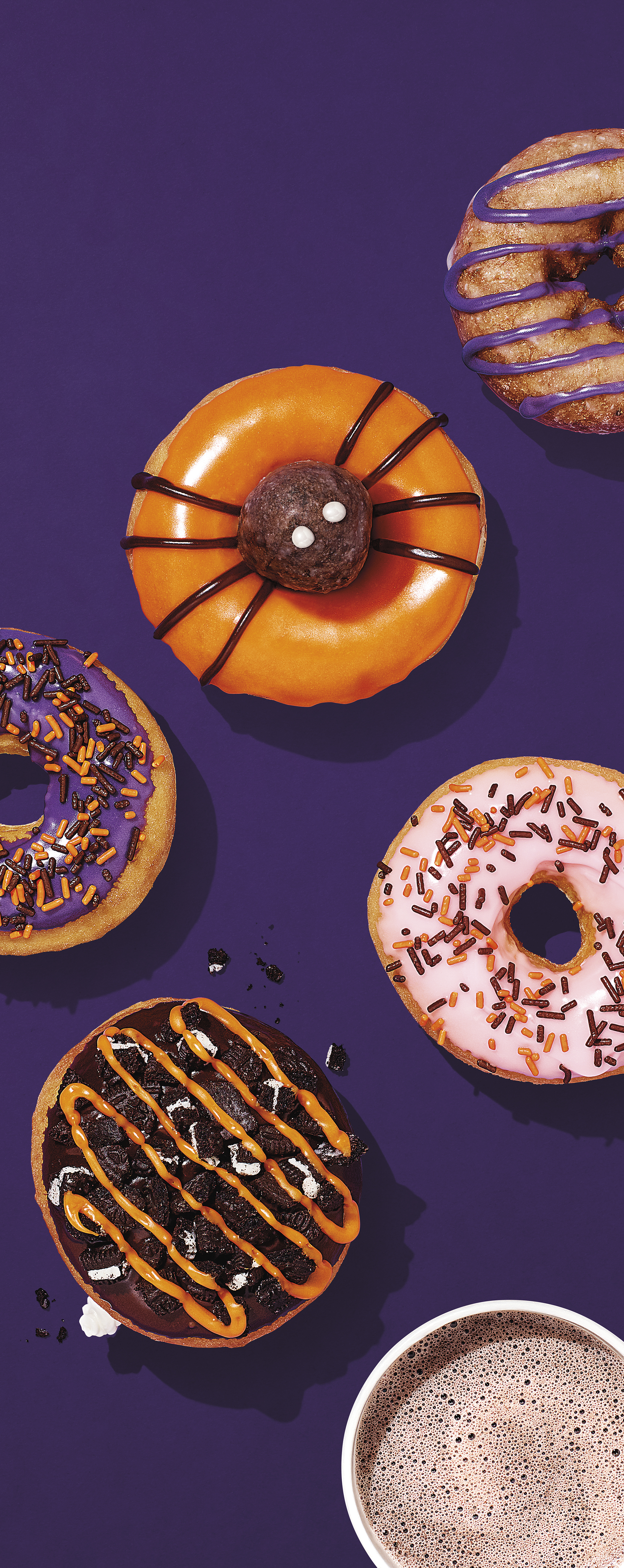 Dunkin Donuts Halloween Donuts 2020 Dunkin' Celebrates Halloween with OREO® this October | Dunkin'