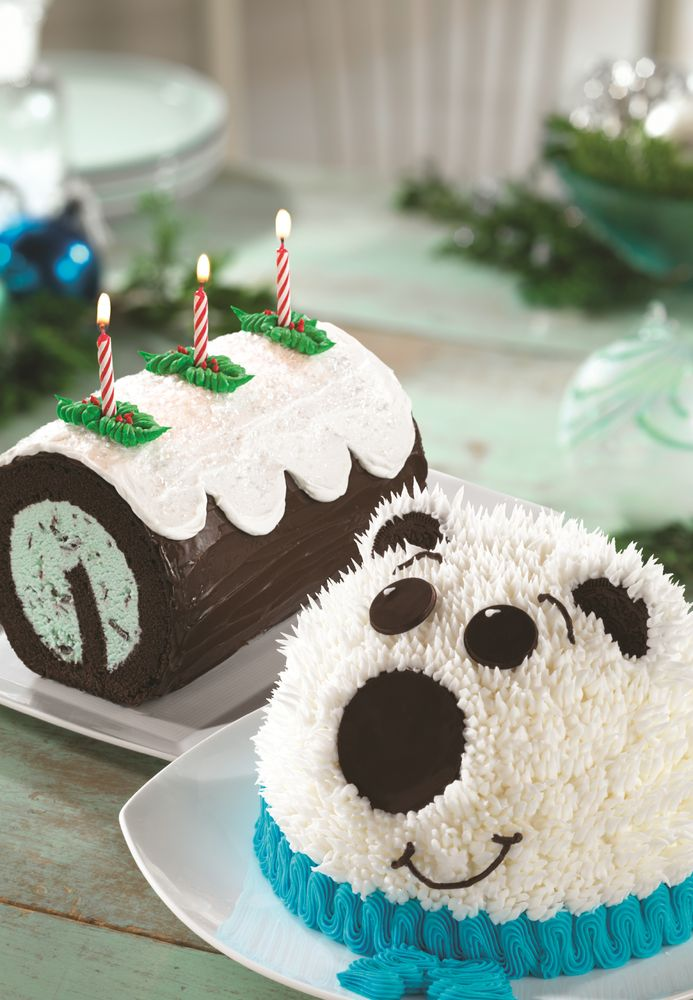 'TIS THE SEASON TO BE JOLLY WITH BASKIN-ROBBINS' HOLIDAY LINEUP OF ICE CREAM CAKES AND NEW FLAVOR OF THE MONTH, OREO® COOL MINT CHOCOLATE