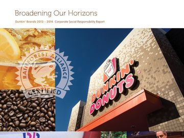 dunkin donuts business model At the end of 2013, dunkin' brands' almost 100 percent-franchised business  model included nearly 11,000 dunkin' donuts restaurants and.