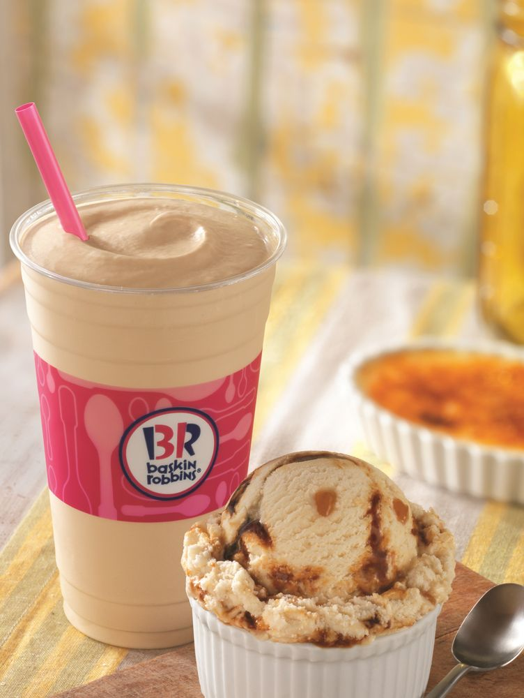 BASKIN-ROBBINS SPRINGS INTO THE SEASON WITH NEW APRIL FLAVOR OF THE MONTH, WHADDAYA SAY CRÈME BRÛLÉE, AND LINEUP OF SEASONAL ICE CREAM FLAVORS AND CAKES