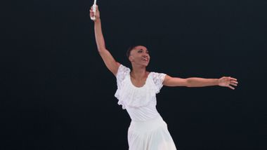 Demetia Hopkins-Greene in Alvin Ailey's Revelations