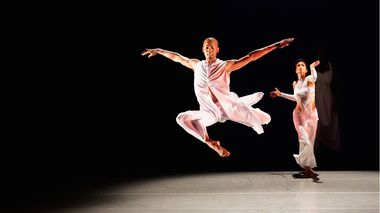 Yannick Lebrun and Belen Pereyra in Ronald K. Brown's Grace
