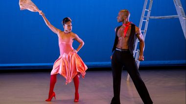 Glenn Allen Sims and Linda Celeste Sims in Alvin Ailey's Blues Suite
