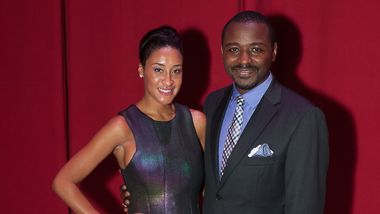 Honorary Chair Kimberly Chandler with Artistic Director Robert Battle