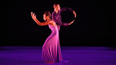 Courtney Celeste Spears and Jacoby Pruitt in Robert Battle's We